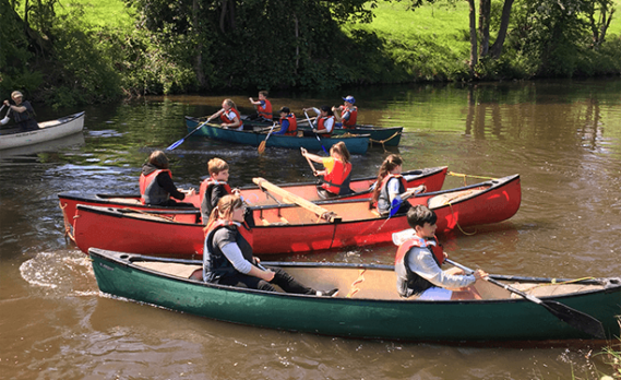 Whitehough Activities - Offsite Canoeing