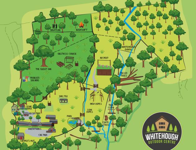 whitehough map